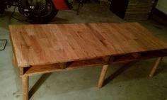 use scrap hard wood floor pieces