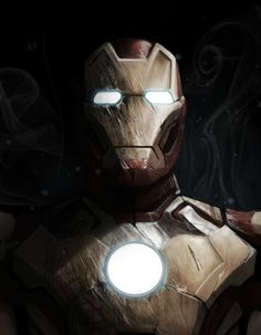Iron Man, by Adam Middleton