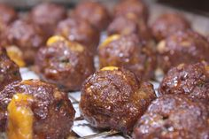 Meatballs and super bowl parties go hand in hand and when they are smoked meatba. - Meatballs and super bowl parties go hand in hand and when they are smoked meatballs full of cheesy - Traeger Recipes, Smoked Meat Recipes, Rib Recipes, Grilling Recipes, Grilling Ideas, Smoked Pork, Venison Recipes, Smoked Chicken, Kraft Recipes
