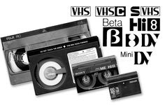 Video Transfer - We transfer all Tapes: VHS - BETA - 8mm - Hi8 - DV to DVD or Video File