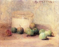 Still Life with Plums-c.1889 by Edouard Vuillard