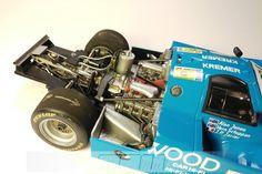 1984 Porsche 956C 24Hr Le Mans Racer - Scale Auto Magazine - For building plastic & resin scale model cars, trucks, motorcycles, & dioramas