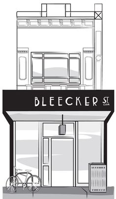 Illustration of our store front
