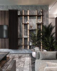 Home Office Design, House Design, Bedroom Tv Wall, Tv Wall Decor, Tv Wall Design, Living Room Tv, Facade House, Luxury Interior Design, Luxury Living