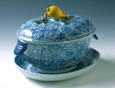 A, B Tureen, Delft, De porceleyne Bijl South Holland, Holland Netherlands, Winterthur, Blue And White China, Delft, Fine China, 18th Century, Tabletop, Nostalgia