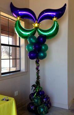 Mardi Gras Party Theme- Lewisville TX| Mardi Gras Balloons| Mardi ...