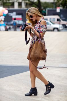floral summer street style