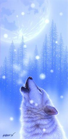 Wolf--White Breath