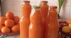 Tento recept je až neuvěřitelně jednoduchý – džus plný vitaminů pro vaše děti máte hotový hned! - Snez.to Hot Sauce Bottles, Grapefruit, Ale, Vegetables, Drinks, Cukor, Food, Pump, Drinking