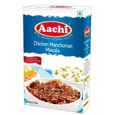 Indo-Chinese Chicken Manchurian Masala Online  Most popular Chicken Manchurian reciepe can be so delicious now with Aachi Chicken Manchurian Masala Rs:30