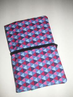 Smartphonetasche mit 2 Fächern Handytasche von ARTandMORE auf DaWanda.com