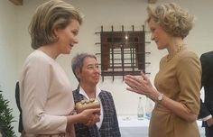 King Philippe and Queen Mathilde attends a meeting in Liechtenstein