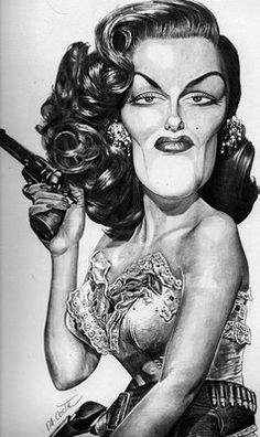 Jane Russell (by Charles DA COSTA)