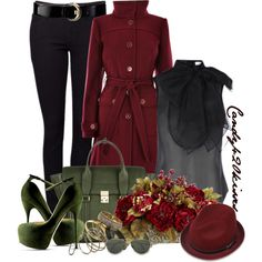 Red and Green Contest - Polyvore