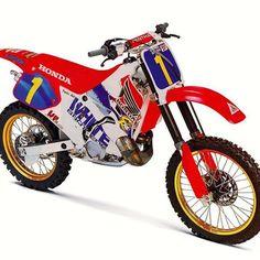 1994 White Brothers Honda CR250R #RideRed #GreatBike #Rocket #motocross #90sMotoRuled