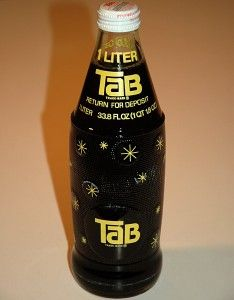 1970s SUGAR-FREE TAB UNOPENED BOTTLE w/ DEADLY SACCHARIN