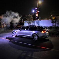 Check out the Tesla Model 3 on a test track click the link in our bio for the full gallery and article.  #tesla #teslas #tsla #teslamotors #teslamodels #teslamodelx #teslamodel3 #teslaroadster #teslasupercharger #teslalife #teslaowner #teslacar #teslacars #teslaenergy #powerwall #gigafactory #elonmusk #spacex #solarcity #scty #electricvehicle #electriccar #EV #evannex #teslagigafactory _____________________________  Website: evannex.com  Source: CleanTechnica by evannex_for_tesla