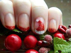 23 ideas para decorar tus uñas esta navidad   La decoracion de uñas