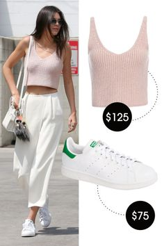 Shop Kendall Jenner\u0027s Style for Under $150. Adidas Stan Smith SneakersGangnam  ...