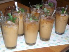 Signs of Springtime —Thai Iced Coffee Thai Iced Coffee, Beverages, Drinks, Non Alcoholic, Food Food, Yum Yum, Dairy Free, Favorite Recipes, Foods