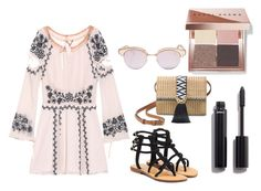 """""""Concert"""" by kgirl114 on Polyvore featuring For Love & Lemons, Mystique, Stella & Dot, Le Specs, Bobbi Brown Cosmetics and Chanel"""