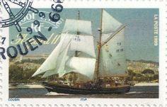 Briefmarke-Europa-Westeuropa-Frankreich-0.15-1999-Asgard II