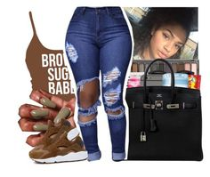 """""""Untitled #461"""" by theylovinniaaa ❤ liked on Polyvore featuring NIKE"""