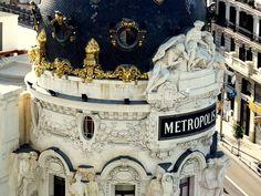 Vistas desde la zotea del Circulo de Bellas Artes, Madrid. 2€.