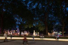 레스터 광장 (Leicester Square), INSTA / 화상 + 니스