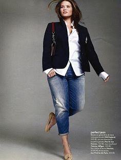 Tara Lynn in French Elle