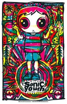 Todd Slater | - SONIC YOUTH - KIDS #poster
