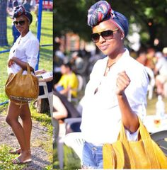 The honeymoon accessory must-have of the season is a scarf in your hair. Tie it into a turban or a big bold bow for an easy, chic style st. Purple Natural Hair, Natural Hair Styles, Short Hair Styles, Cute Hairstyles For Short Hair, Scarf Hairstyles, Tie A Turban, Jamaica Reggae, Hype Hair, Big Hair Dont Care