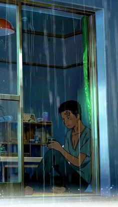 Anime Gifs, Anime Songs, Anime Music, Sad Anime, Anime Love, Sky Aesthetic, Aesthetic Movies, Aesthetic Anime, Anime Wallpaper Phone