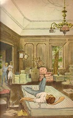 (4) Illustration by Paul Frame is from the 1965 Whitman Deluxe edition of Trixie Belden and the Secret of the Mansion