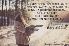 Csitáry-Hock Tamás idézet a szeretetről. A kép forrása: Angels' Army