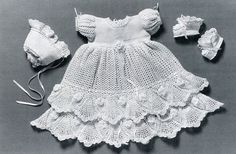 HEIRLOOM CHRISTENING SETS Pattern Book Baby Knit & by KenyonBooks