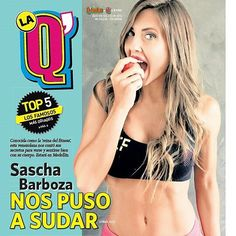 Gracias a @QhuboMedellin #revistalaq por la portada con @saschafitness #saschafitnessenmedellin #PaolaEspañaPress by jimepalaciosm