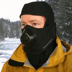 The Subzero Warm Breath Balaclava - Hammacher Schlemmer. For snowmobiling