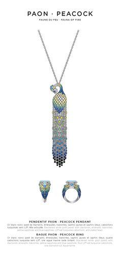 Lalique Peacock