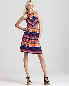 Shoshanna Dress  Shae Cross Front Style (Spring/Summer) | Big Fashion Show shoshanna dresses