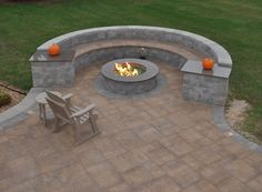 With the help of Cambridge Pavingstones, share stories around the fire pit. Entertain friends and family in the comfort of your own backyard; Cambridge Pavingstones with ArmorTec makes this possible! Installation: Outdoor Living at Lancaster Farms