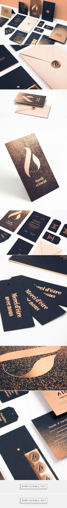 Black and Gold Wedding Invitation Set by Folsom Studio | Fivestar Branding – Design and Branding Agency & Inspiration Gallery