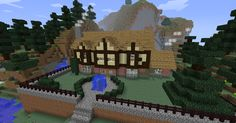 Minecraft Tudor Mansion by NiegelvonWolf.deviantart.com on @DeviantArt