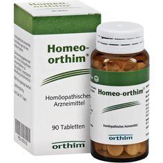 HOMEO ORTHIM Tabletten:   Packungsinhalt: 90 St Tabletten PZN: 05370109 Hersteller: Orthim KG Preis: 9,55 EUR inkl. 19 % MwSt. zzgl.…