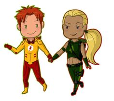 artemis and kid flash | kid flash and artemis - Young Justice Photo (33633559) - Fanpop ...