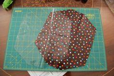 TUTORIAL PORTABOCADILLOS (Lunch bag tutorial) - HANDBOX Reusable Things, Patches, Diy, Quilts, Patterns, Vases, Bias Tape, Tutorials, Fabrics