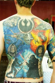 Crazy STAR WARS Tattoos - Photo Collection - News - GeekTyrant