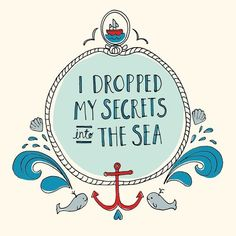 illustration of the sea Sand 'N Sea Properties LLC, Galveston, TX Josie Loves, Illustration, Beautiful Words, Pisces, Inspire Me, Wise Words, Me Quotes, Book Quotes, The Secret