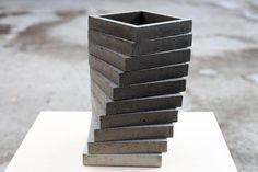 Vasen - drehverlauf - betonHALTER - ein Designerstück von betonIDEE bei DaWanda