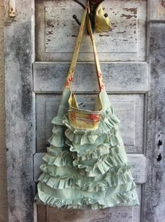 idea of purse to make -- just love this